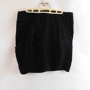 Studio Y Pencil Skirt Size 13/14 Black